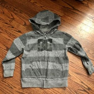 DC Kids Zip Up Hoodie Size Small (5)